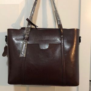 Leather purse - never used!